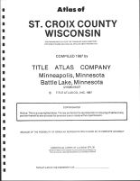 Title Page, St. Croix County 1987